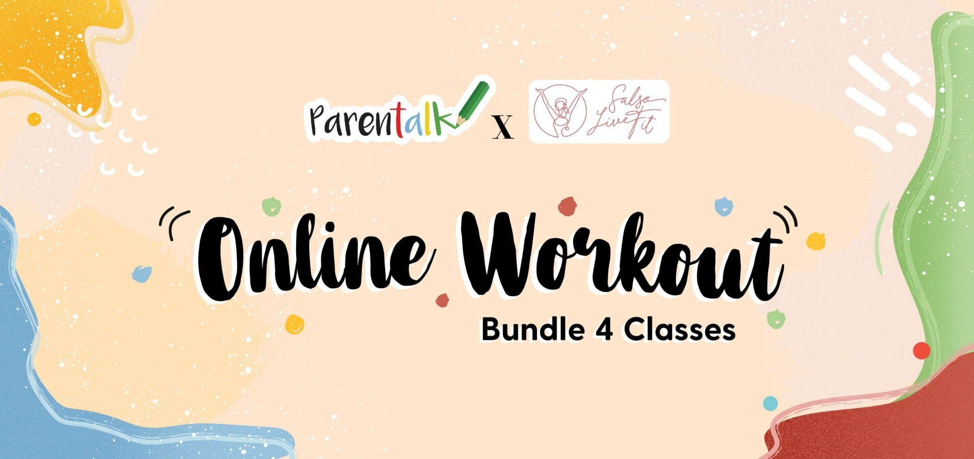 Online Workout (Bundle 4 Classes) - 13 Maret - 3 April