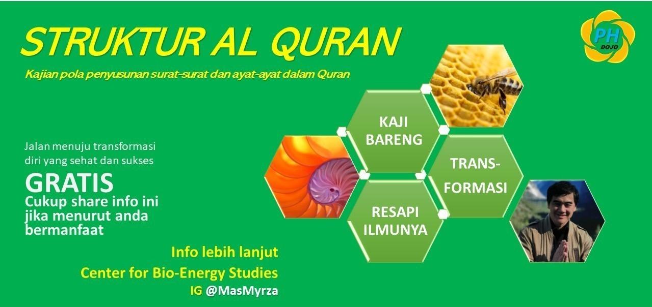 QURANIC STRUCTURE - Kajian Struktur Al Quran