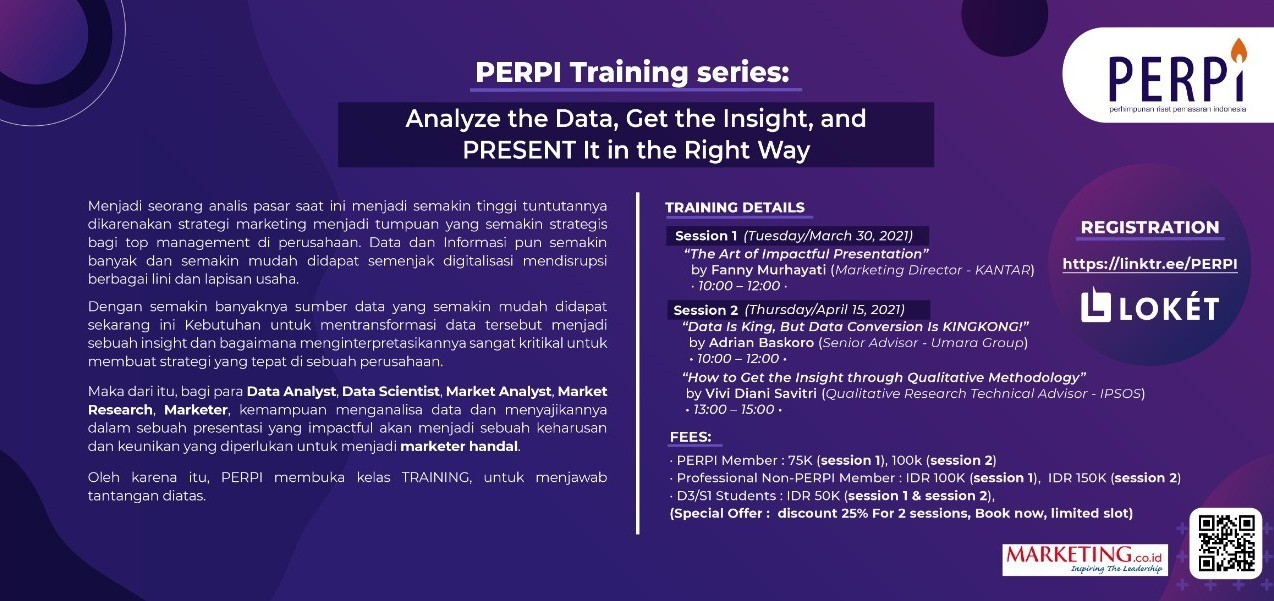 PERPI Training Series: (For PERPI Member)