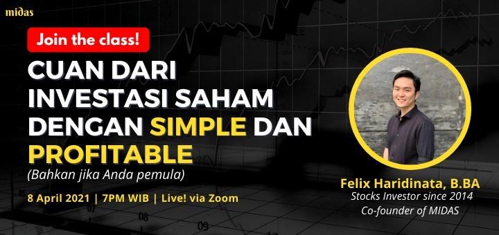 Cuan dari Investasi Saham dengan Simple dan Profitable (bahkan jika Anda pemula)
