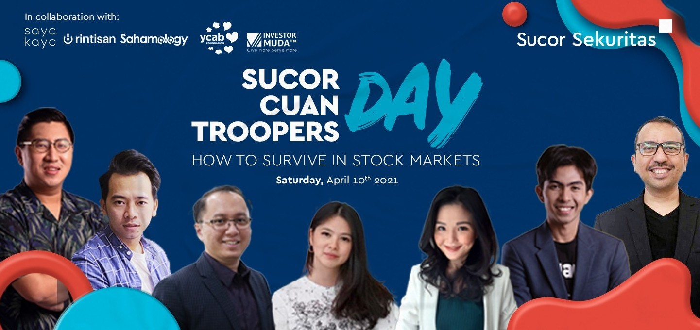 Sucor Cuan Troopers Day :  How To Survive In Stock Markets