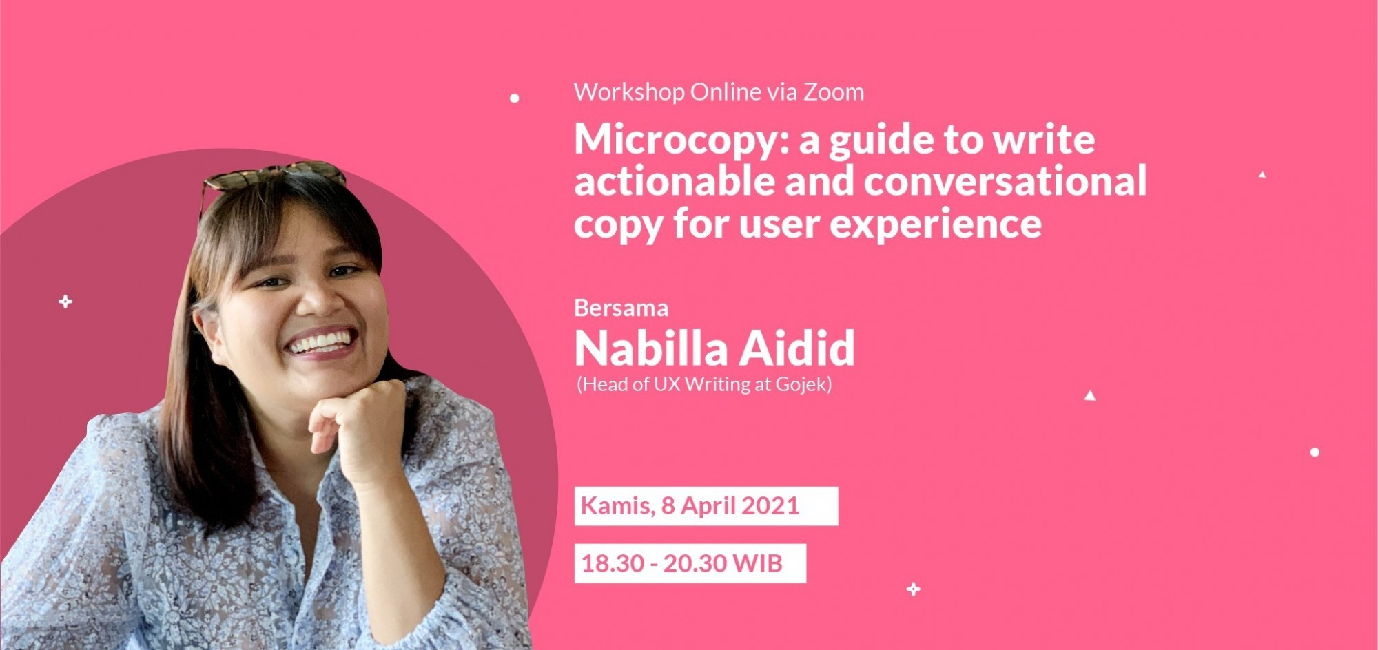 Microcopy: A guide to write actionable and conversational copy for user experience
