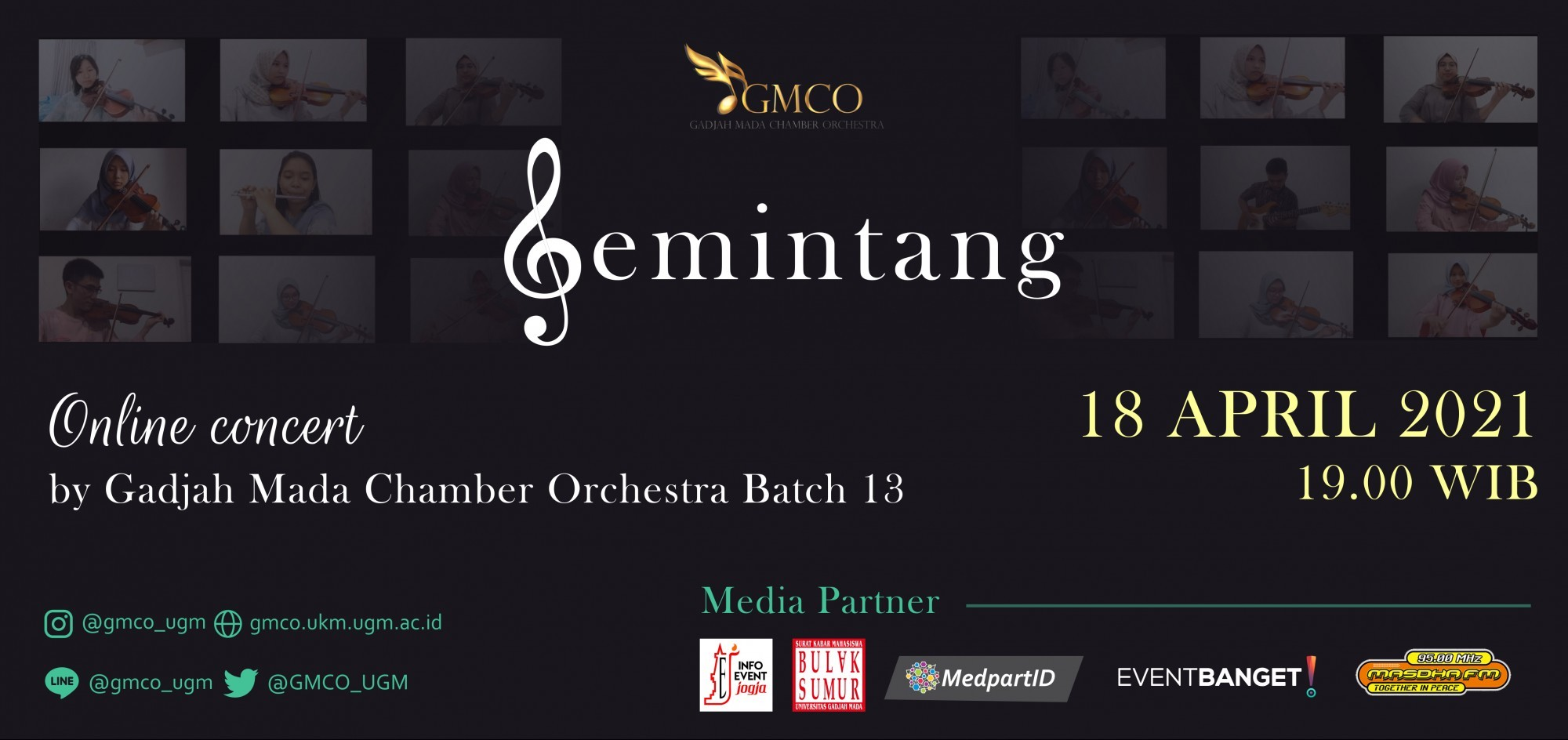 Mini Concert GMCO Batch 13 Gemintang