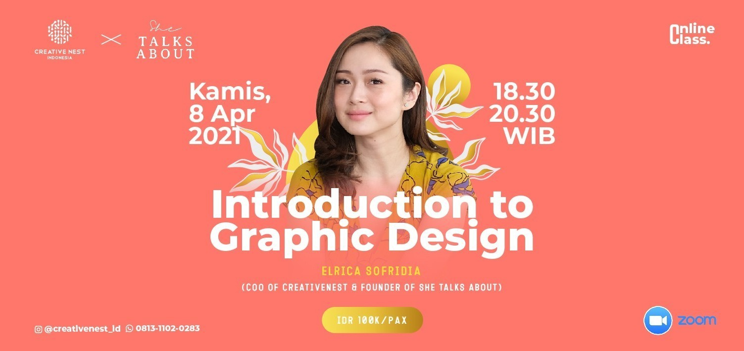 Introduction to Graphic Design with Creative Nest Indonesia