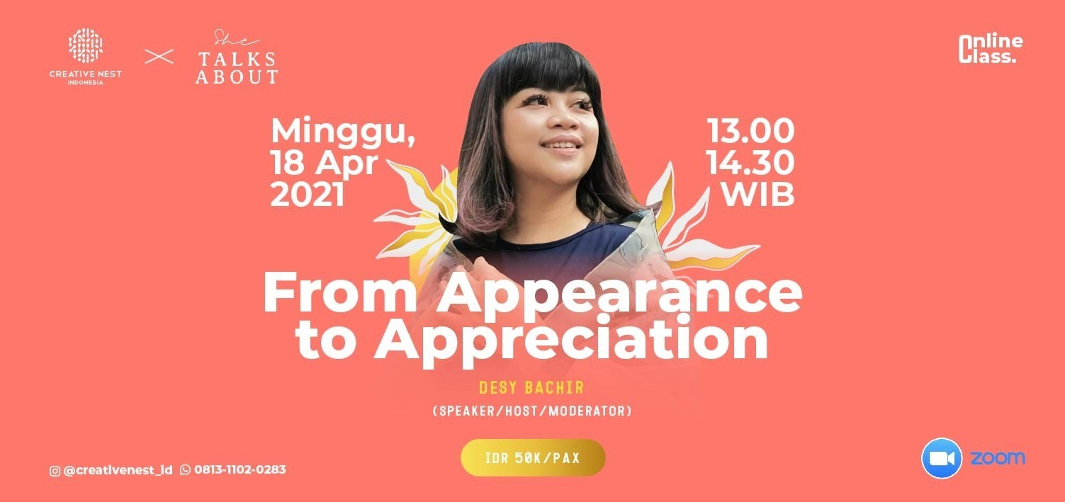 From Appearance to Appreciation with Desy Bachir