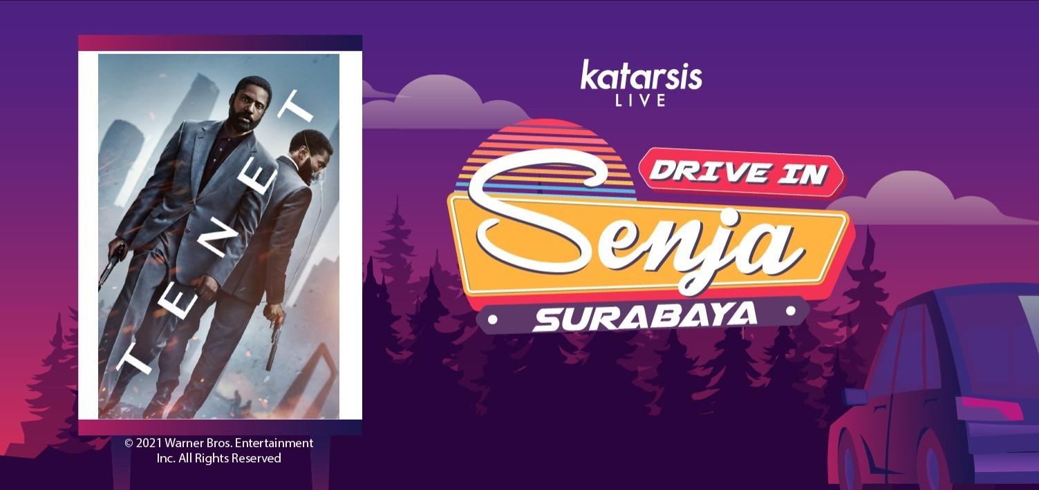 Drive-In Senja Surabaya: Tenet