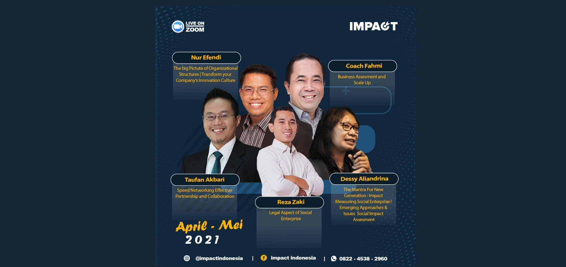 PEOPLE MANAGEMENT | SOCIOPRENEUR | START UP | WORKSHOP | IMPACT INDONESIA