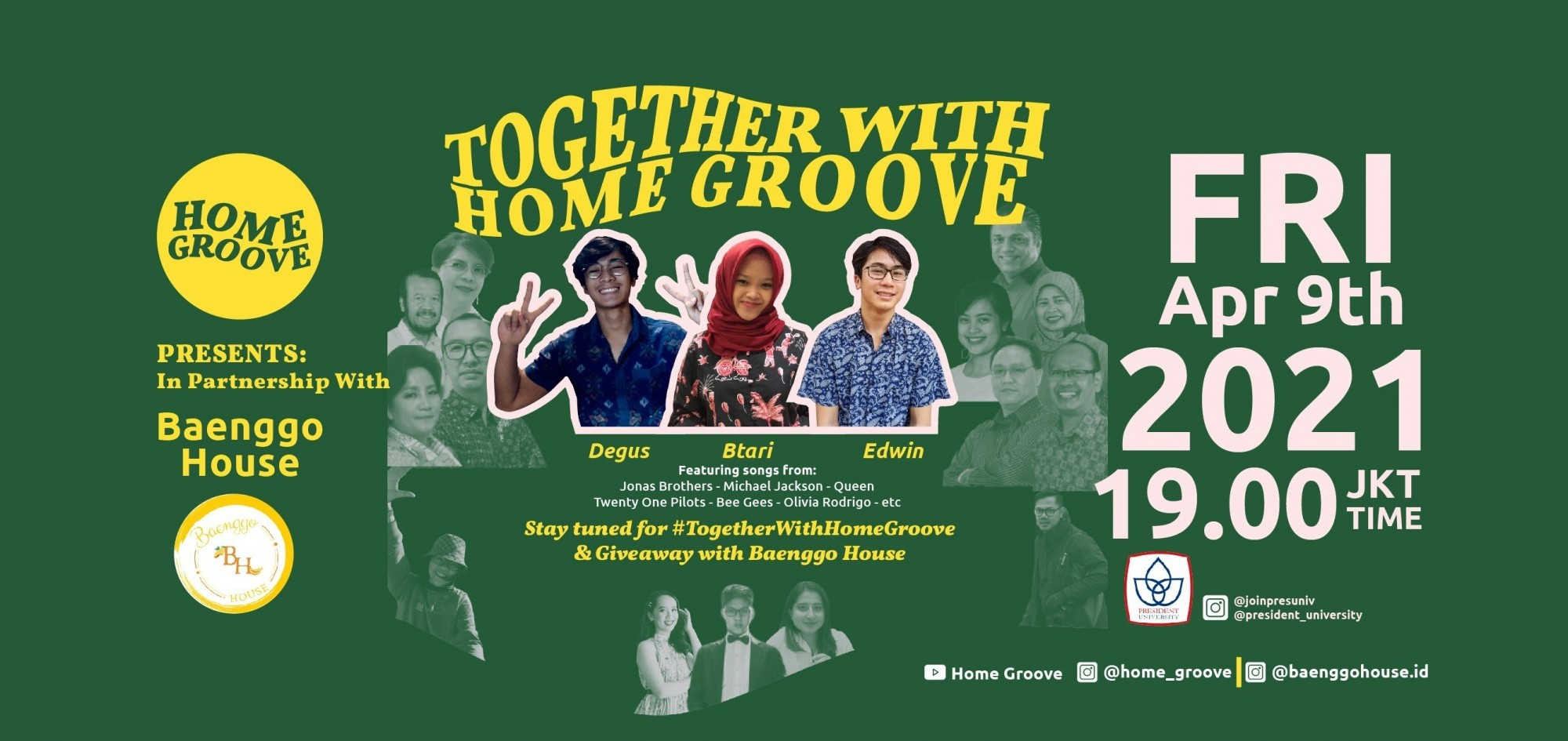 Together With Home Groove