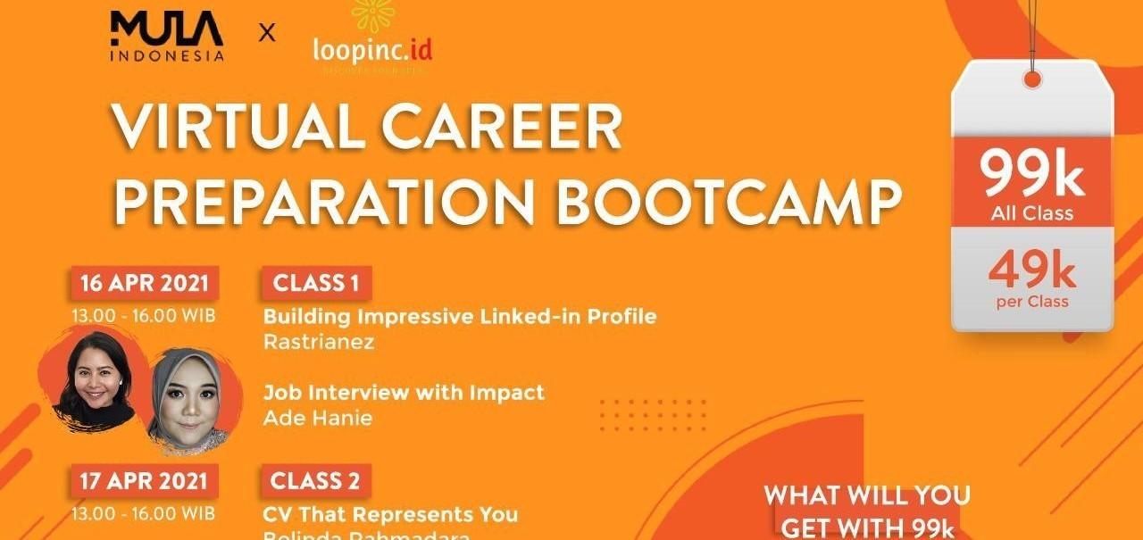 Webinar #berMULAdirumah: Virtual Career Preparation Bootcamp