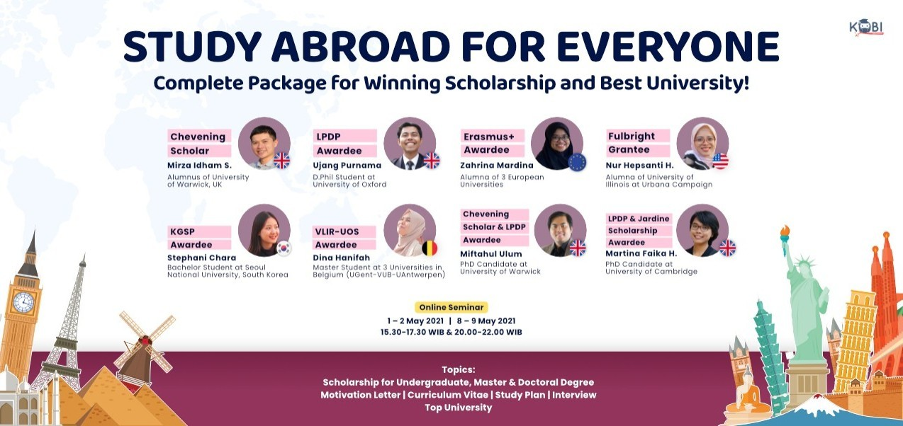 Study Abroad for Everyone: Complete Package for Winning Scholarship and Best University!