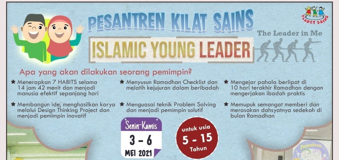 ISLAMIC YOUNG LEADER : The Leader in Me
