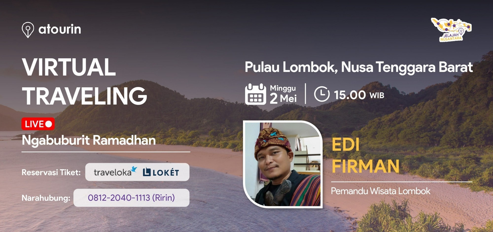 Ngabuburit LIVE dari Pulau Lombok, Nusa Tenggara Barat