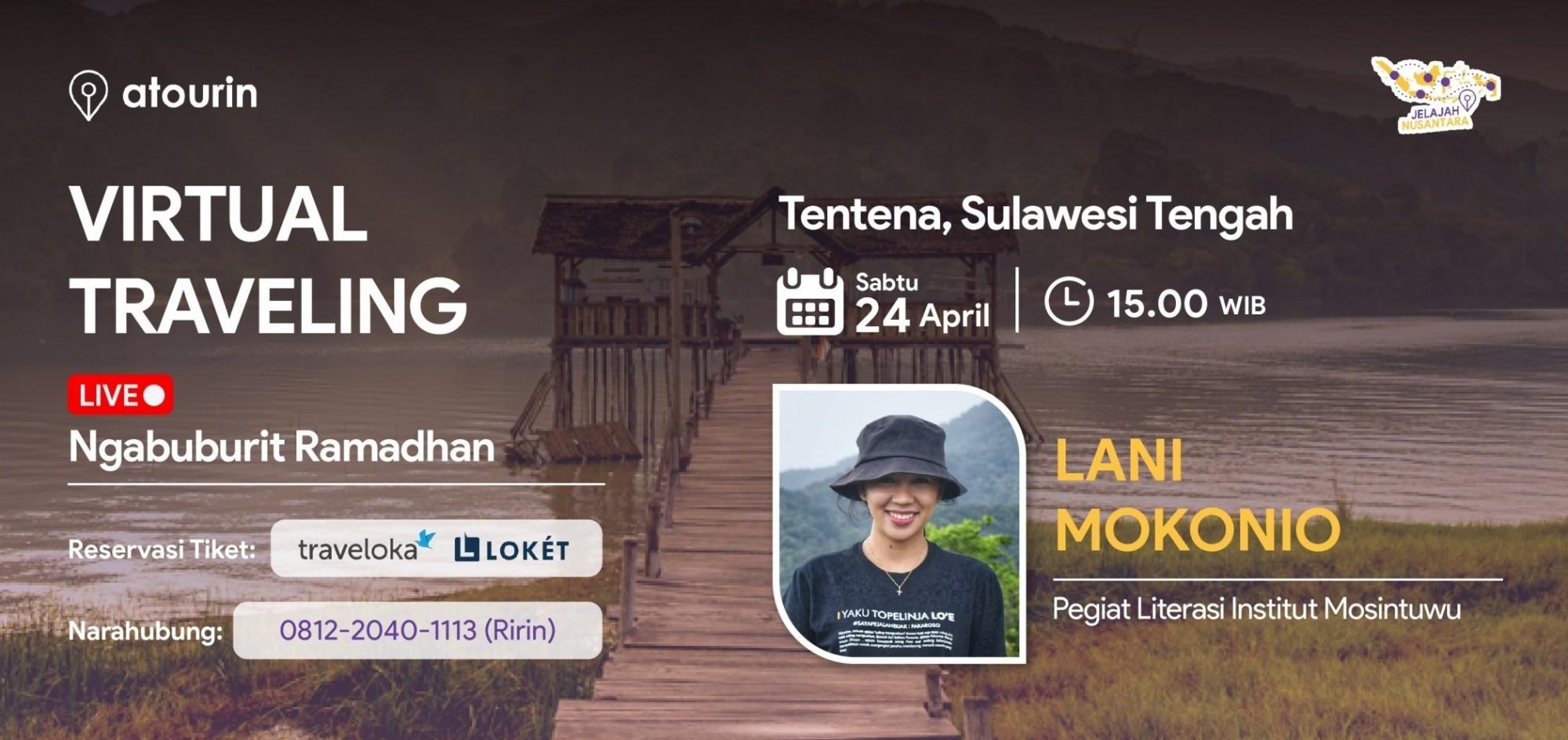 Ngabuburit LIVE dari Tentena, Sulawesi Tengah
