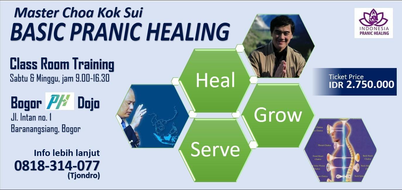 Pranic Healing / Penyembuhan Prana - Basic Training 2 Hari