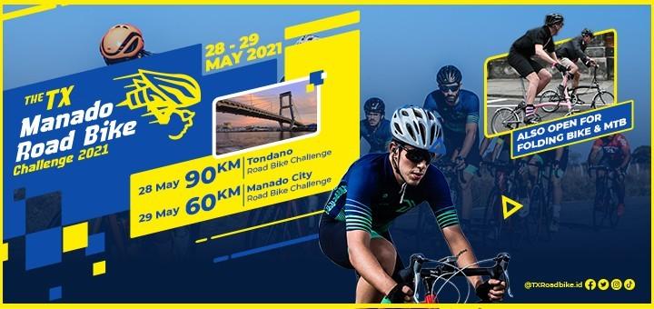 The TX Manado Road Bike Challenge 2021