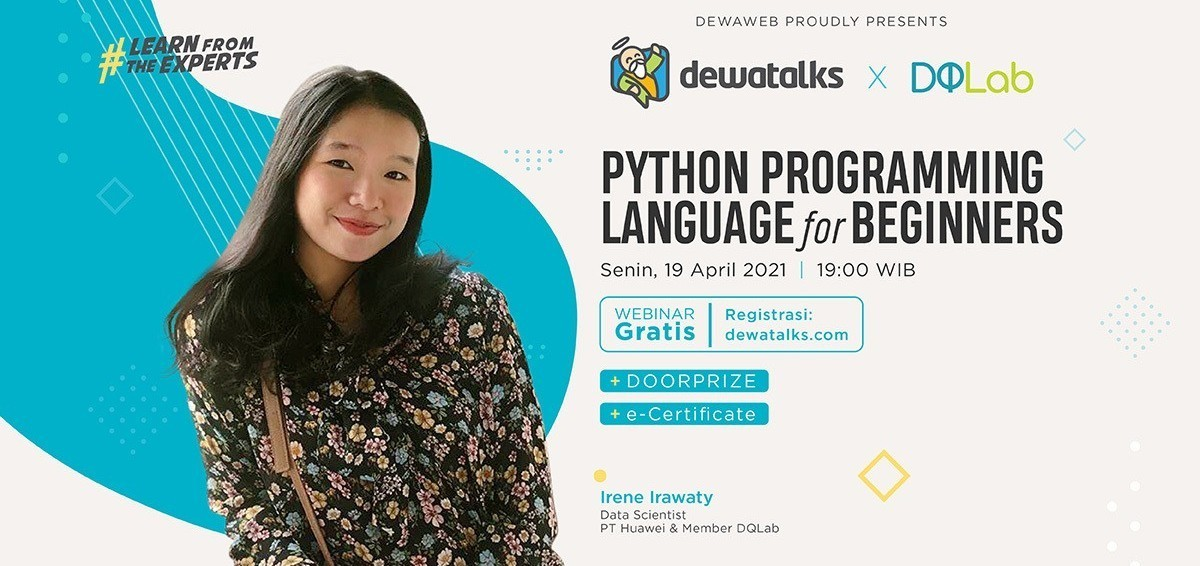 Dewatalks Webinar: Python Programming Language for Beginners