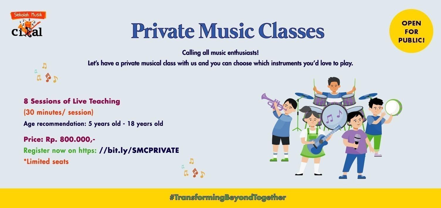 Sekolah Musik Cikal: Private Class