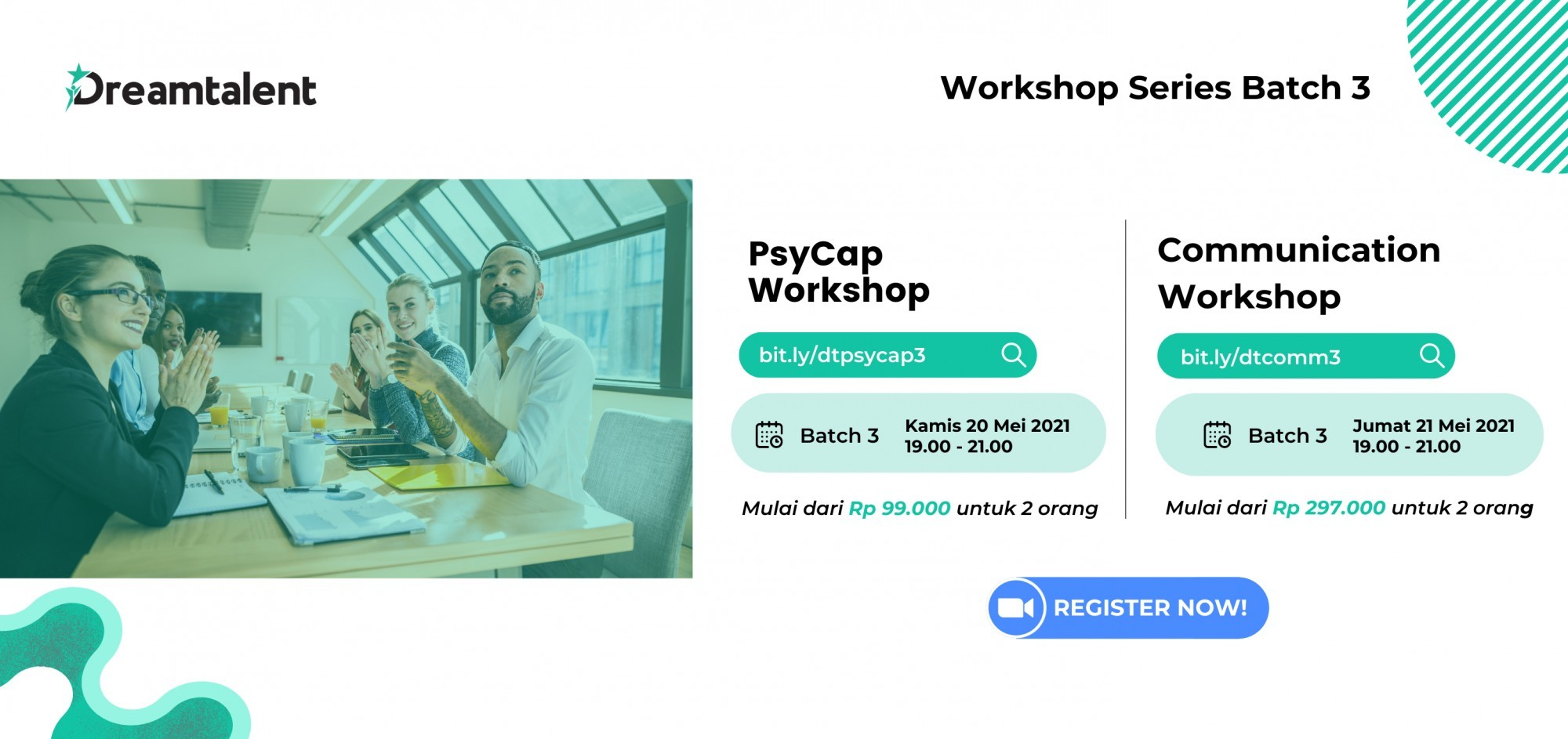 PsyCap Workshop by Dreamtalent (Batch 3)