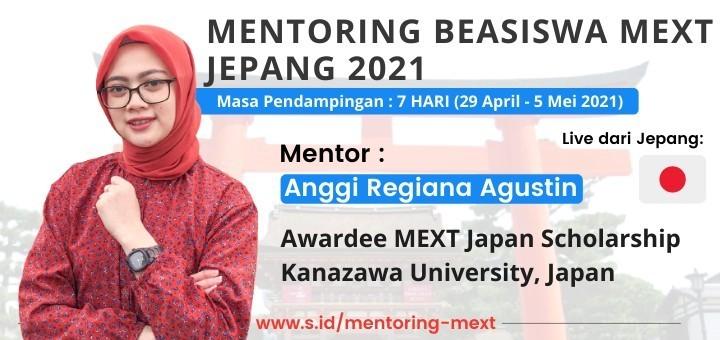 MENTORING BEASISWA MEXT JEPANG 2021 [FULL SERVICE]