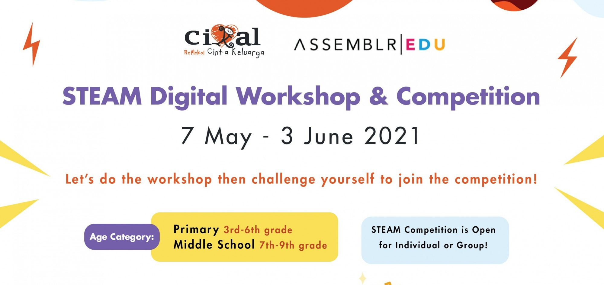 STEAM Digital Workshop and Competition