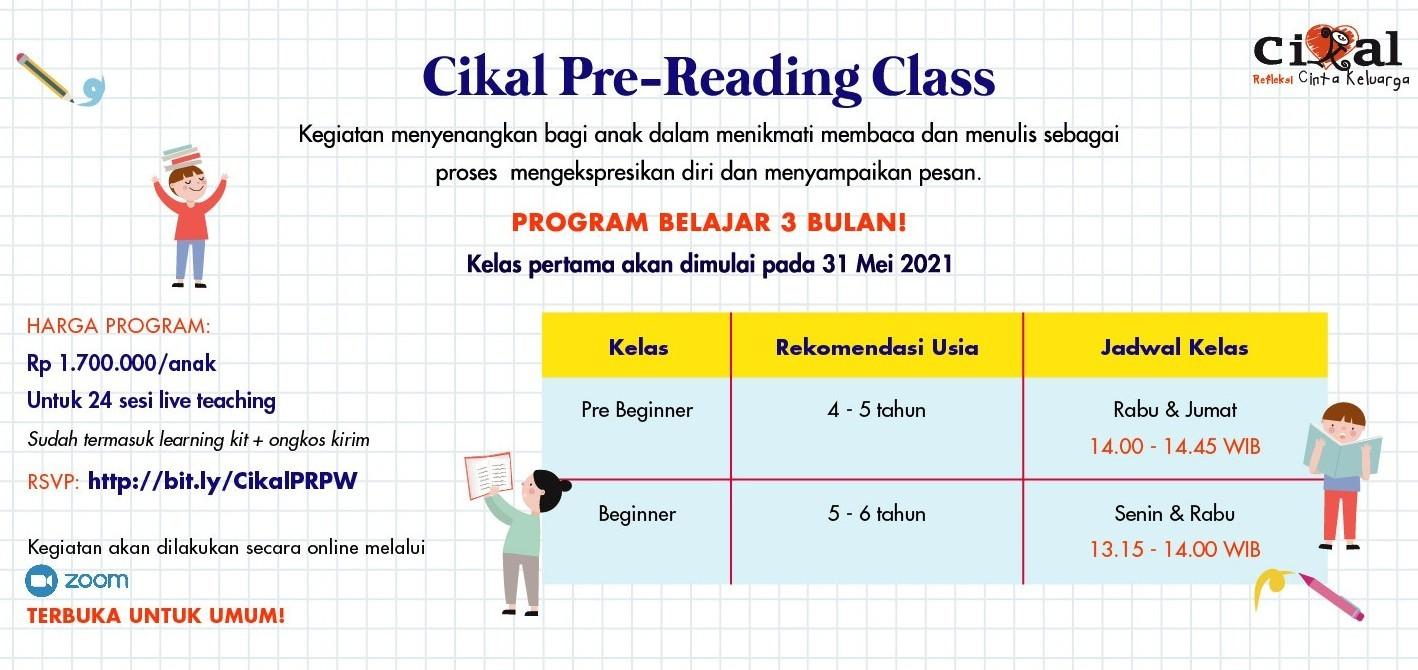 Cikal Pre-Reading Class