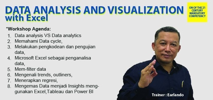 DATA ANALYSIS AND VISUALIZATION WITH EXCEL