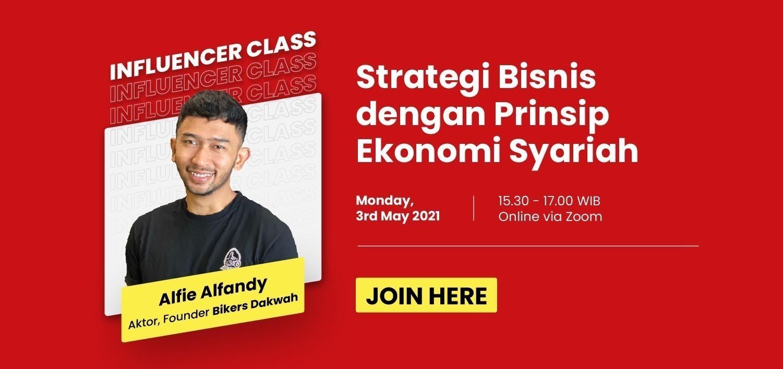 Glints ExpertClass Influencer Class - Strategi BIsnis dengan Prinsip Ekonomi Syariah