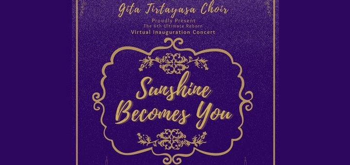 Virtual Inauguration Concert - Sunshine Becomes You