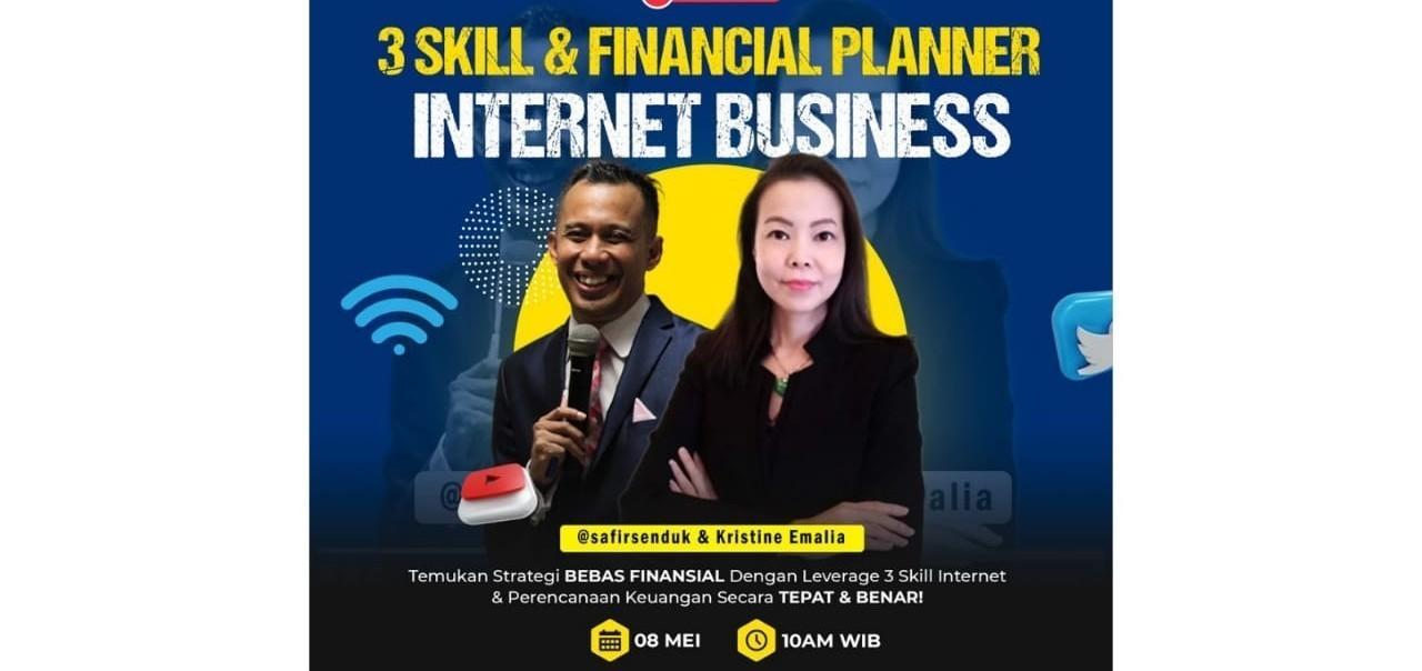 Webinar Gratis  Rahasia Bebas Financial Dengan Leverage 3 Skill Internet