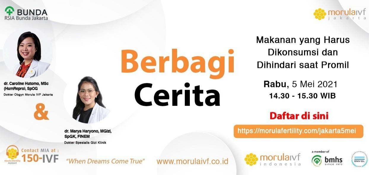 Morula Berbagi Cerita dr Caroline Hutomo  X dr Marya