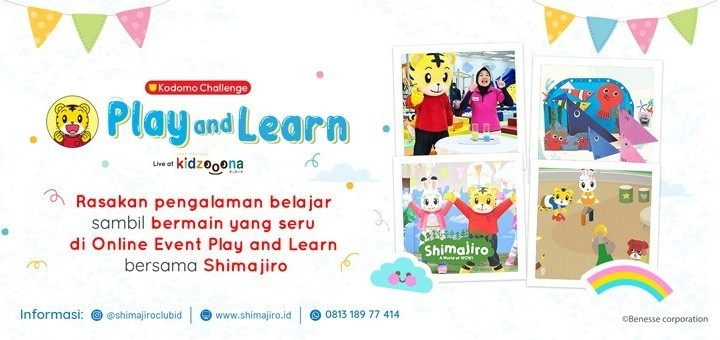 Shimajiro Play and Learn (11 Jun, 16:00 WIB)