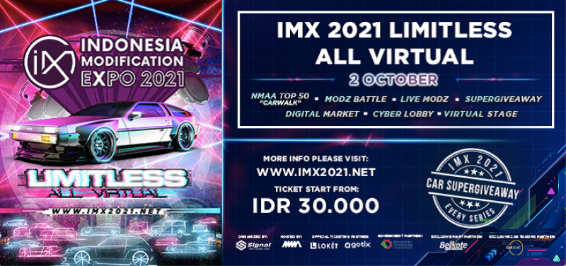 Indonesia Modification Expo 2021 Limitless-All Virtual