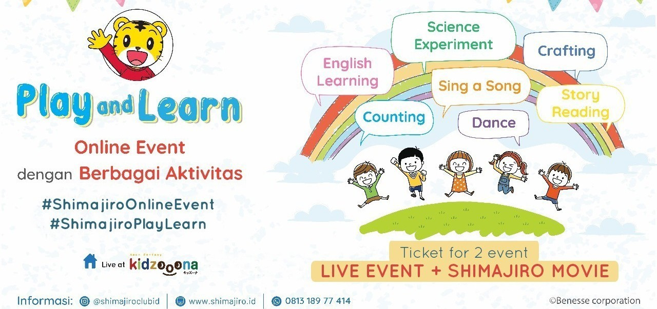 Shimajiro Play & Learn 11 Jun (Bundling 2 event: Movie & Live Event)