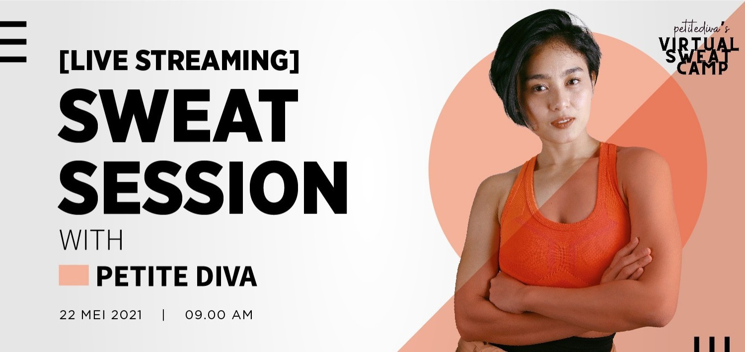 [Live Streaming] Sweat Session with Petite Diva