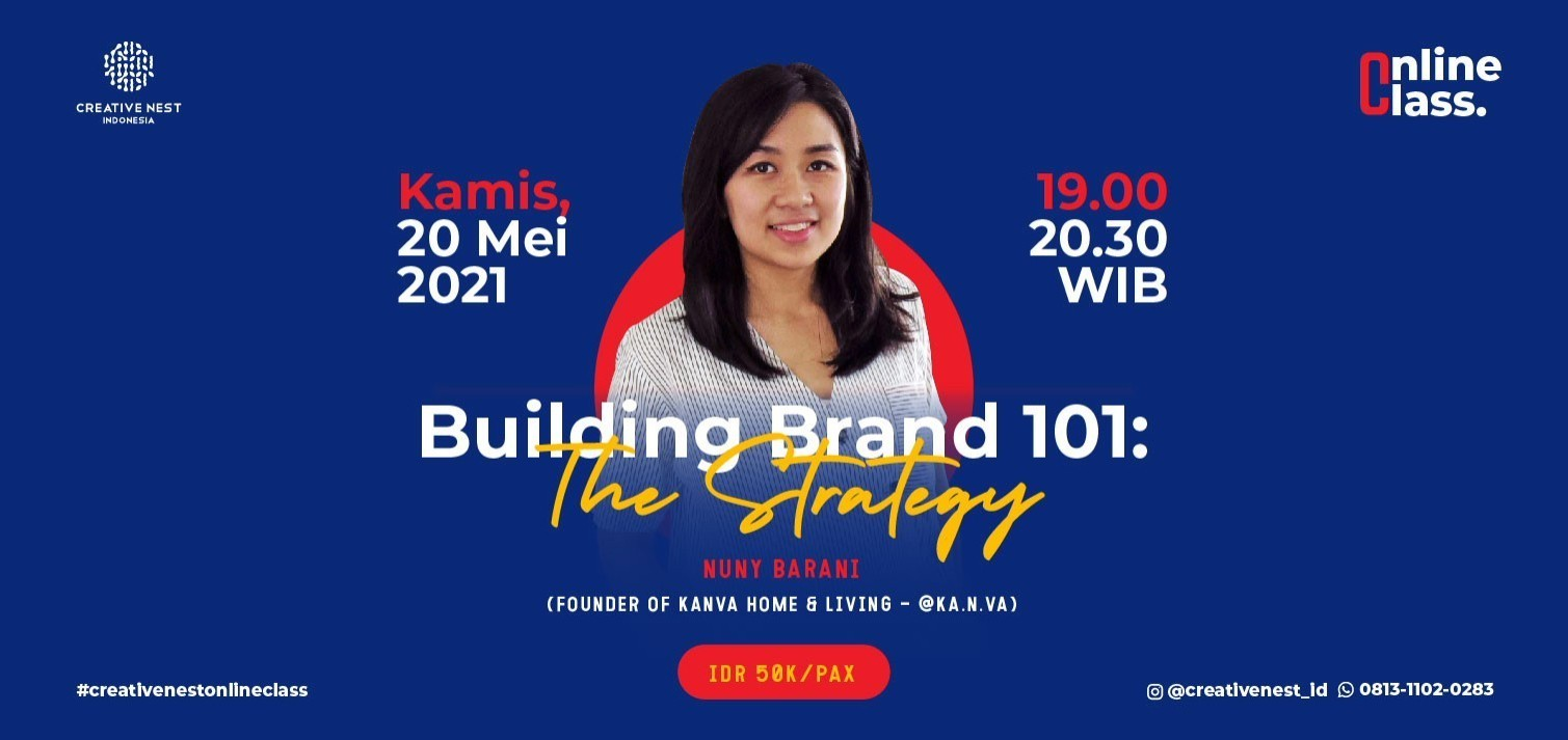 Building Brand 101: The Strategy with Nuny Barani (@KA.N.VA)