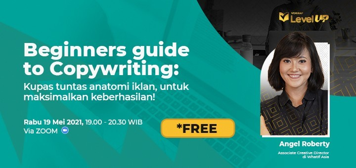 Vokraf Level Up - Beginners Guide to Copywriting