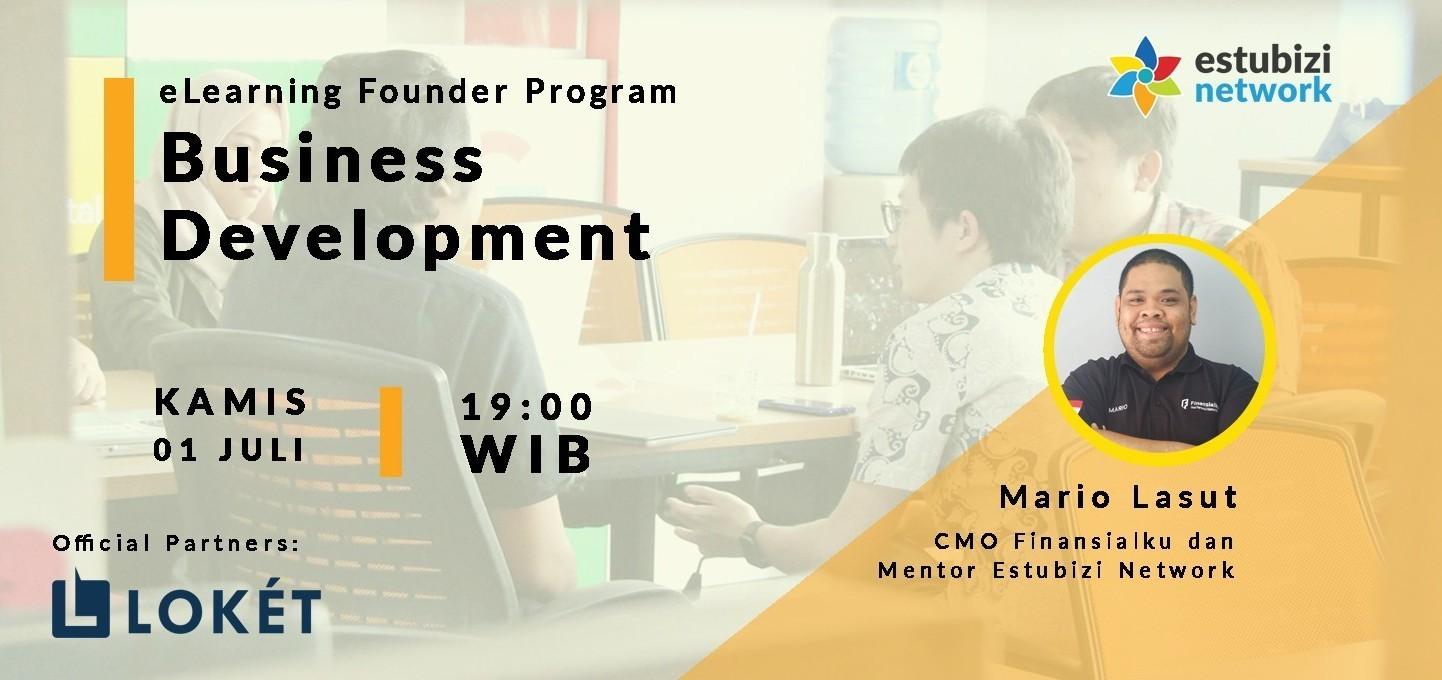 Founder Program: Business Development