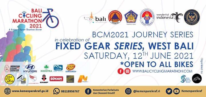 FIXED GEAR BIKE SERIES Bali Barat - Bali Cycling Marathon 2021