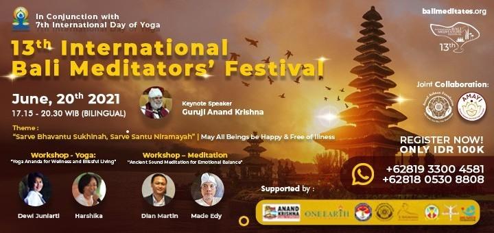 13th International Bali Meditators' Festival
