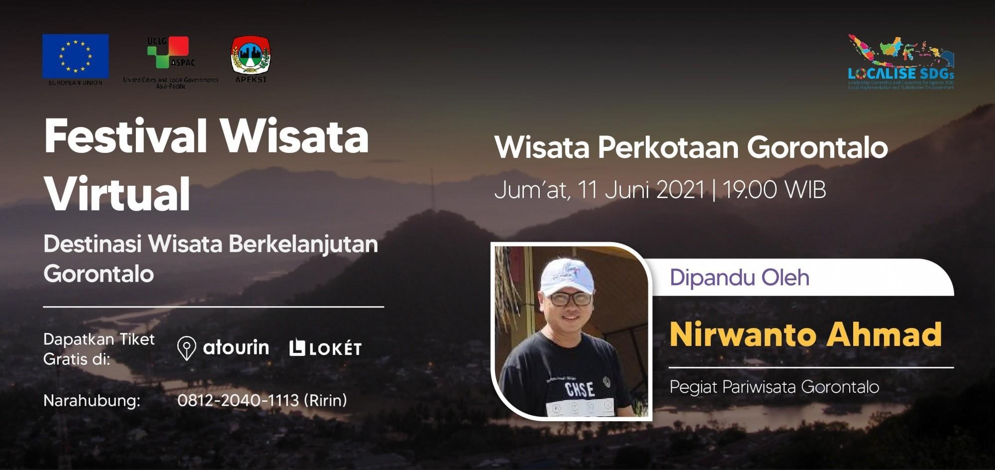 Wisata Perkotaan Gorontalo - Festival Wisata Virtual