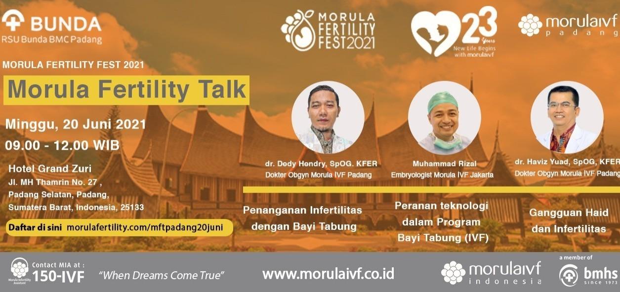Morula Fertility Talk IVF Padang
