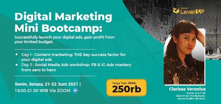Digital Marketing Mini Bootcamp