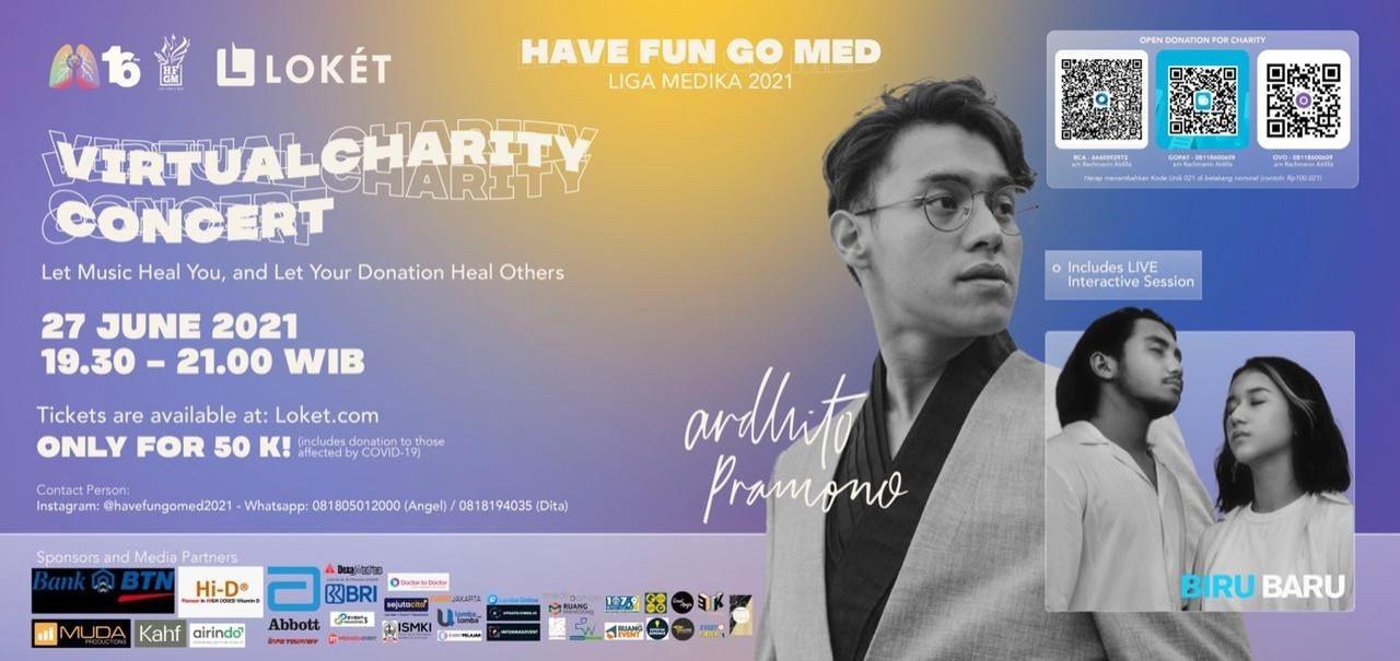 Charity Concert Have Fun Go Med Liga Medika 2021