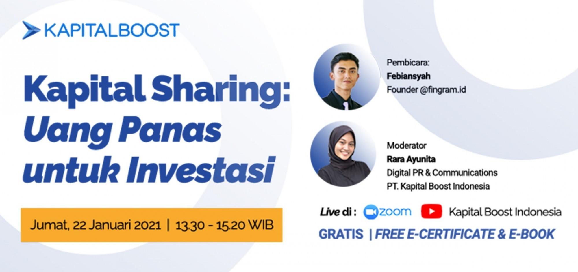 Kapital Sharing: Uang Panas untuk Investasi?