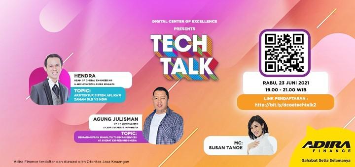 Tech Talk Vol.2