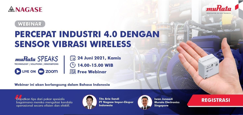 Percepat Industri 4.0 dengan Sensor Vibrasi Wireless