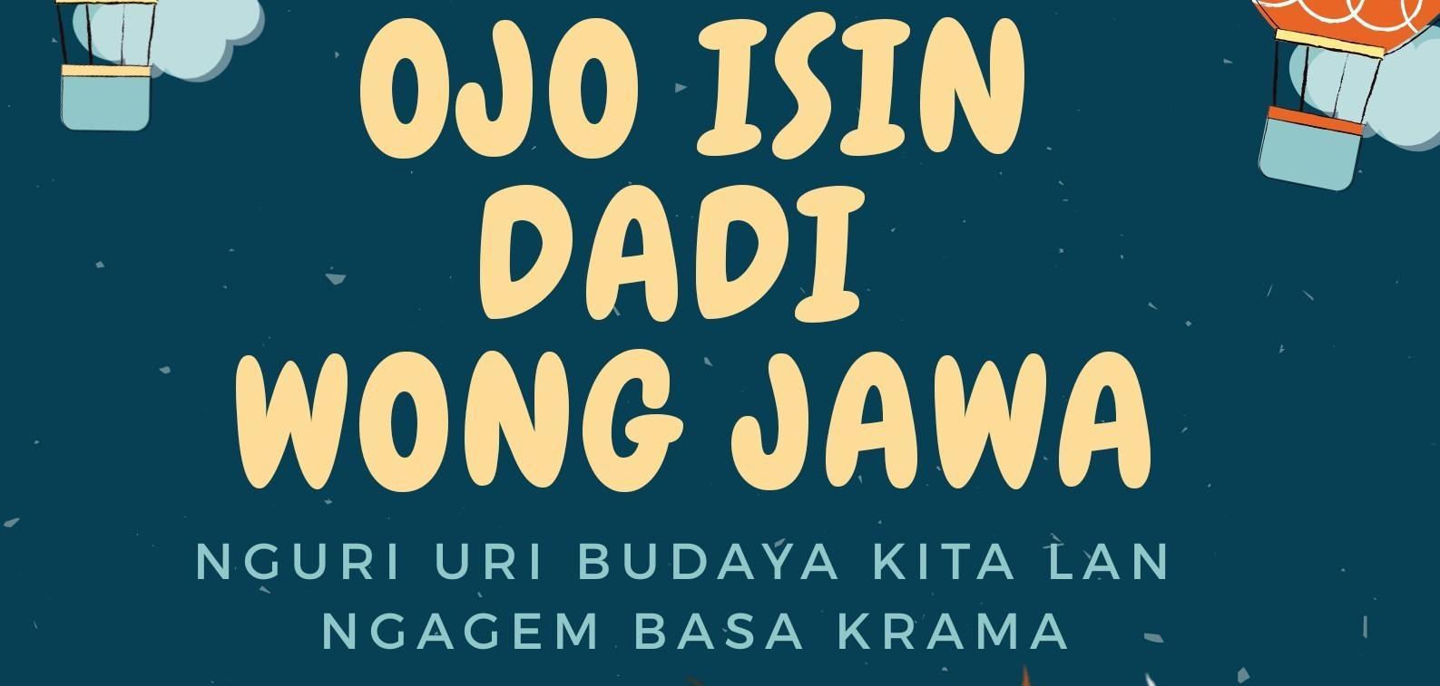 "Webinar June "" OJO ISIN DADI WONG JAWA"""