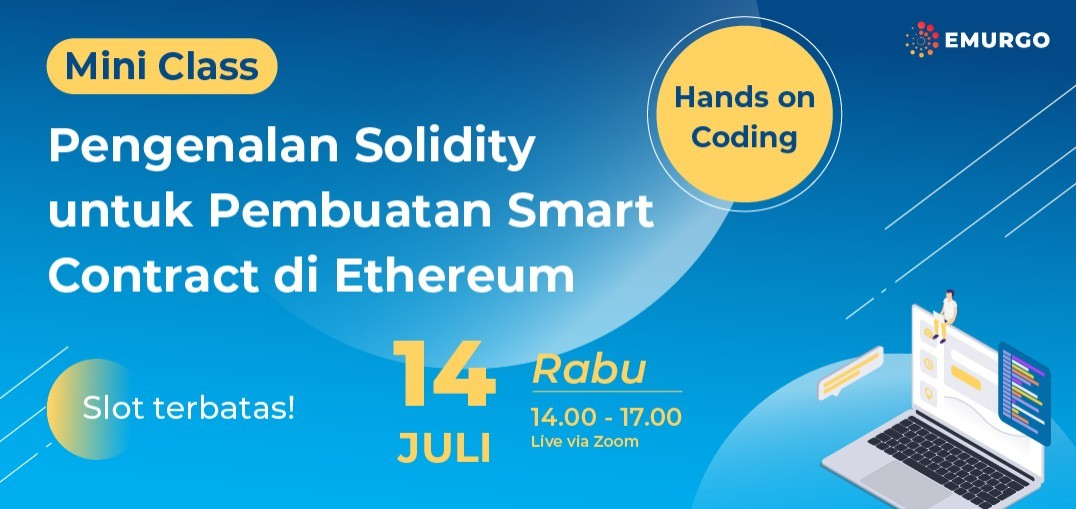 Mini Class: Pengenalan Solidity untuk Pembuatan Smart Contract di Ethereum