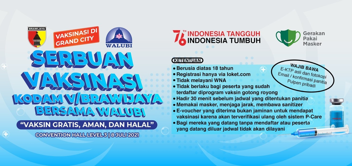 Serbuan Vaksinasi TNI bersama Walubi - 8 Juli 2021