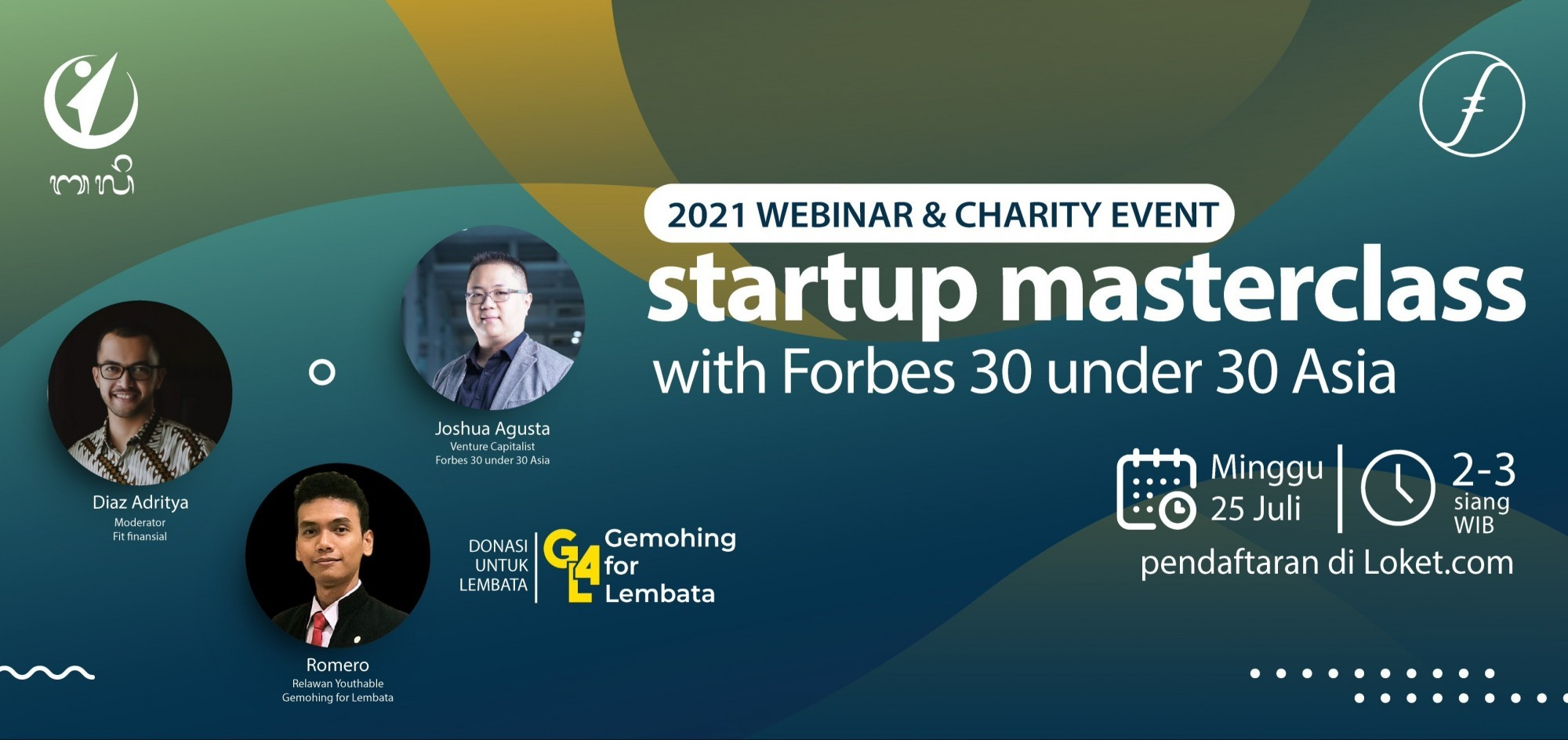 Startup Masterclass with Forbes 30 under 30 Asia